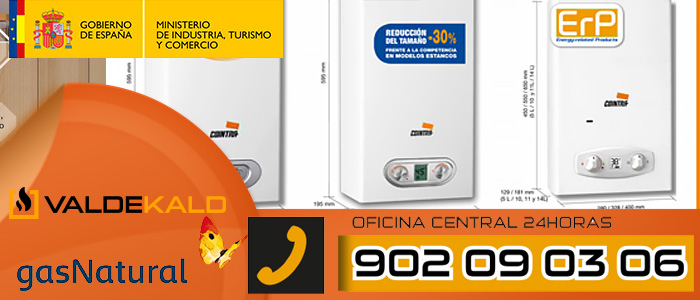 Calentadores cointra a gas estancos servicio tecnico de - Calentadores a gas ...