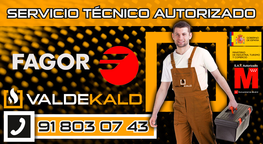 Servicio Tecnico Calderas Fagor Valdemoro