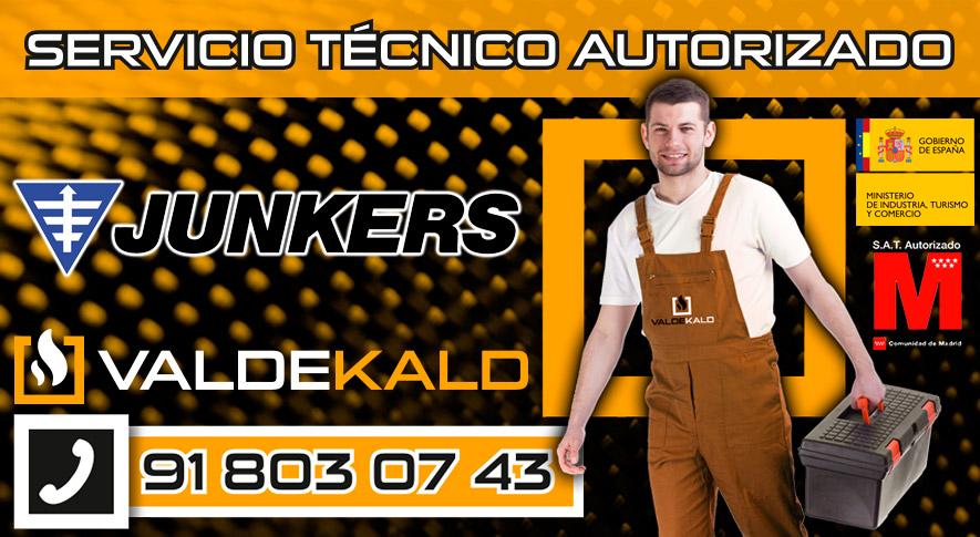 Servicio Tecnico Calderas Junkers Valdemoro