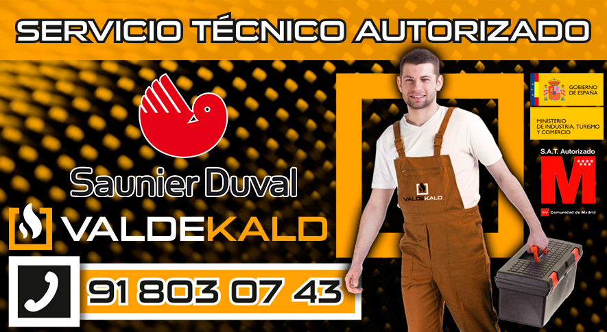 Servicio Tecnico Calderas Saunier Duval Valdemoro