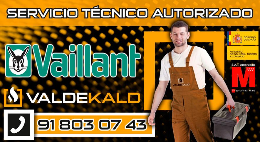 Servicio Tecnico Calderas Vaillant Valdemoro