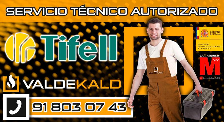 Servicio Tecnico Calderas Tifell Valdemoro