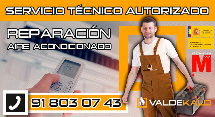 Reparación aire acondicionado en Valdemoro