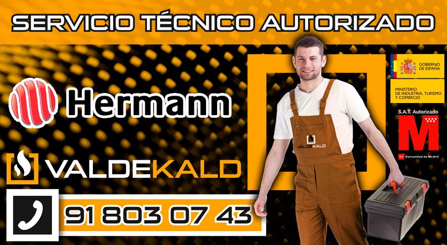 Servicio Técnico Calderas Hermann en Valdemoro