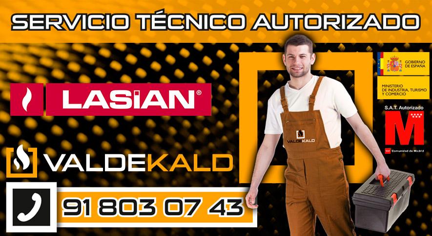 Servicio Técnico Calderas Lasian en Valdemoro