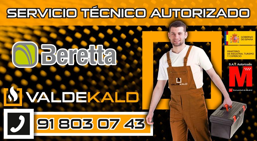 Servicio técnico calderas Beretta en Valdemoro