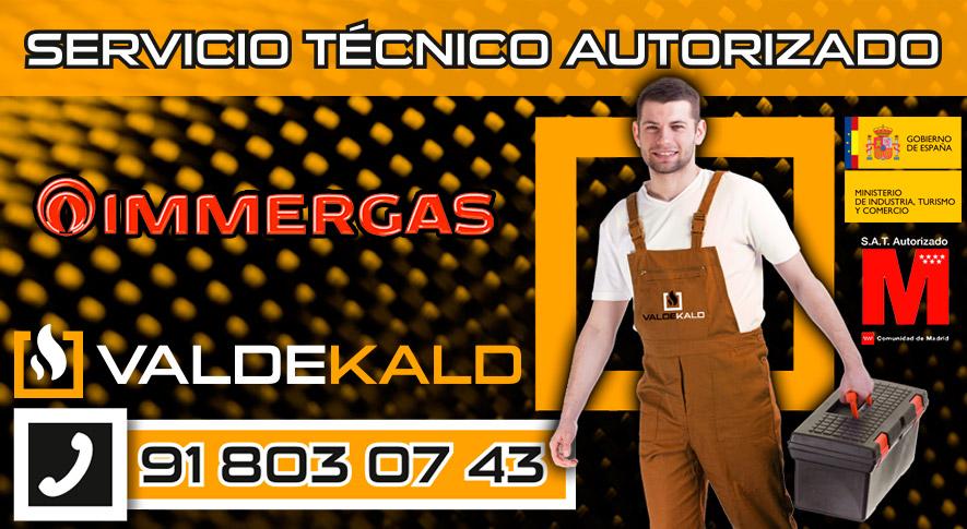 Servicio Técnico Calderas Immergas en Valdemoro