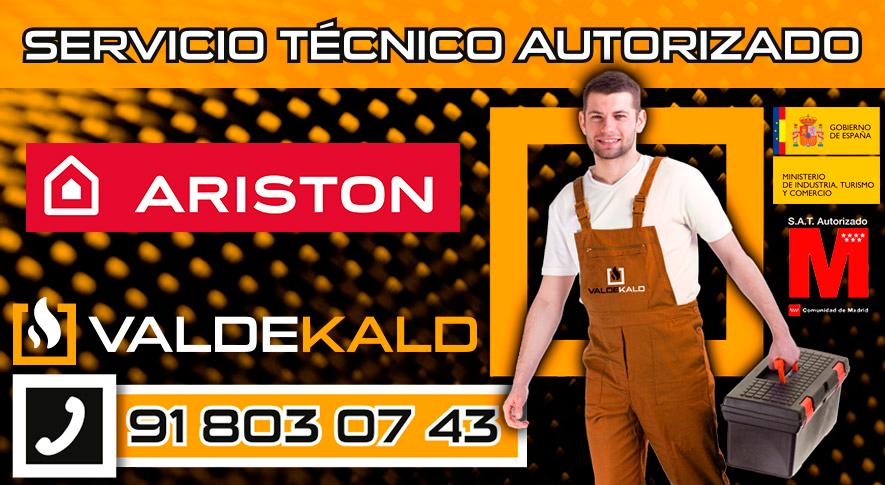 servicio técnico calderas Ariston en Valdemoro