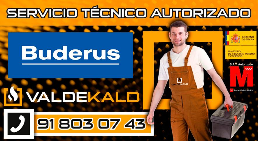 servicio técnico calderas Buderus en Valdemoro