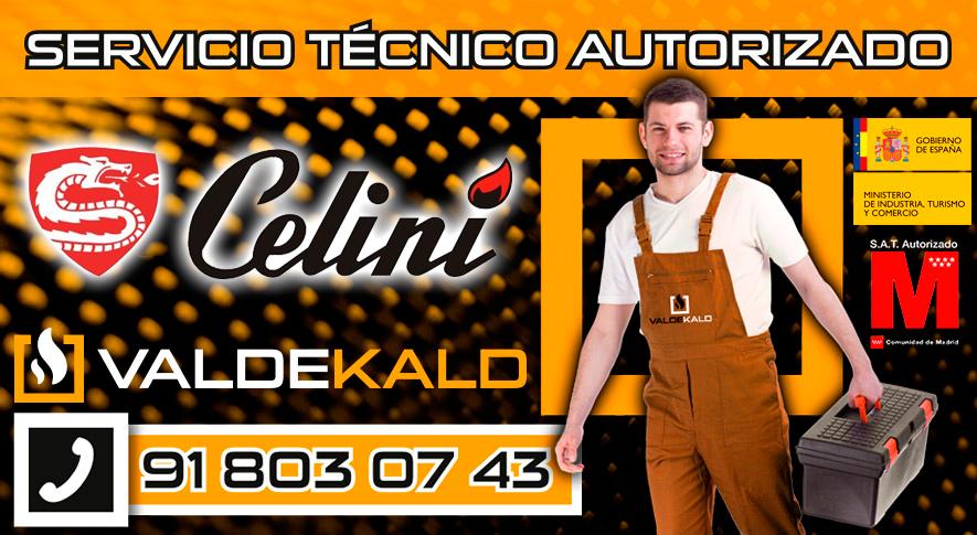 servicio técnico calderas Celini en Valdemoro
