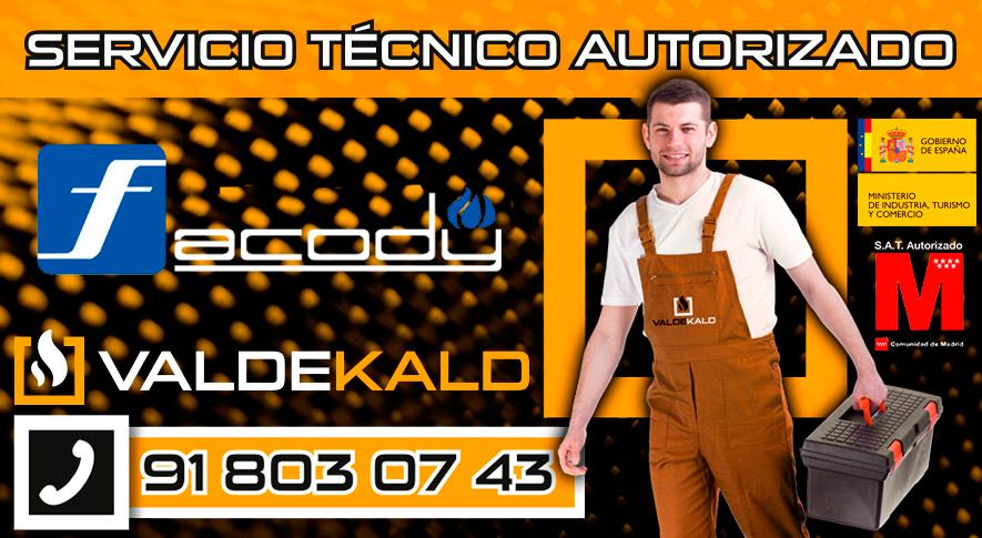 Servicio Técnico Calderas Facody en Valdemoro