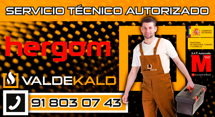 Servicio técnico Hergom Valdemoro